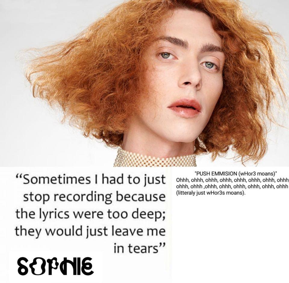SOPHIE Deep Lyrics